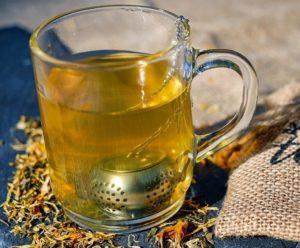 Grøn mango te, Perch