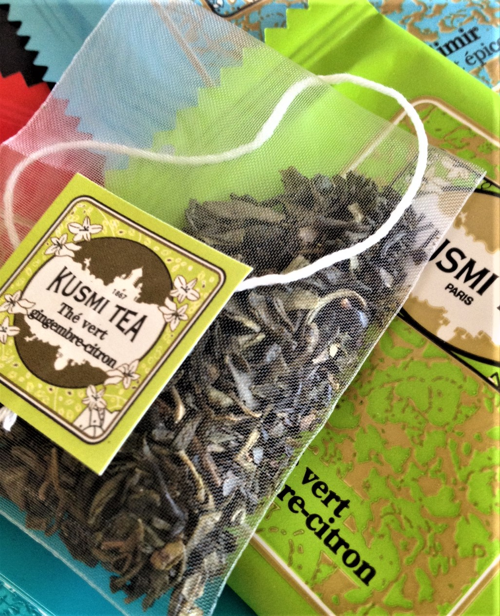 Kusmi, green tea ginger lemon
