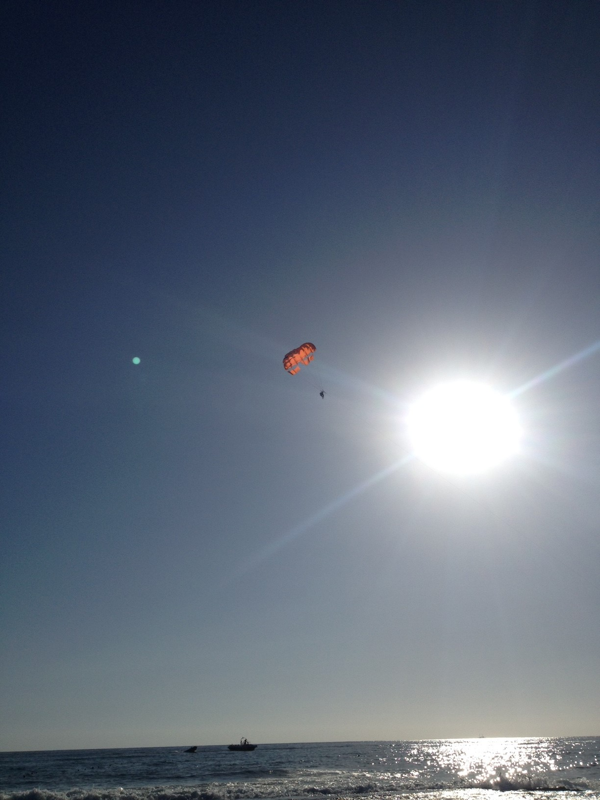 Parasailing, Oba beach