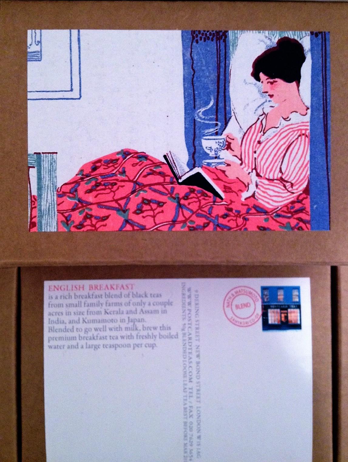 postcard teas